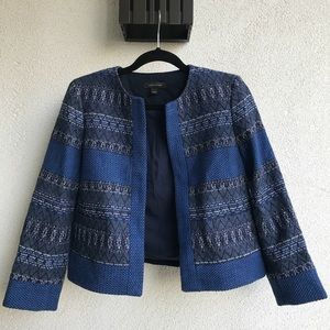 Ann Taylor Tweed Blazer Jacket